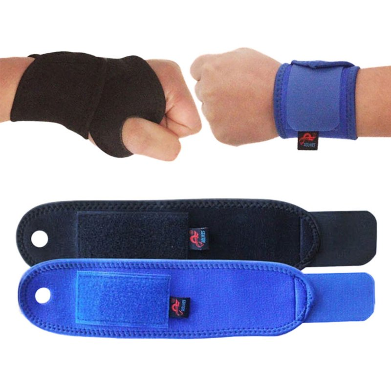 1 Pcs Outdoor Sports Wrist Guard Palm for Health Adjustable Wristbands Bandage Sport Safety Elbow Knee Pads Protector Tonsee
