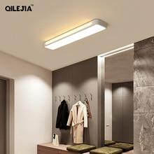 Moderno Soffitto A Led Luci Per Corridoio Balcone per soggiorno camera da letto ristorante casa rettangolare lampada da soffitto illuminazione