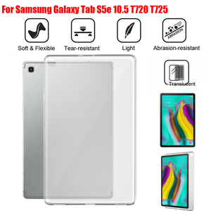 Tablet back Case Cover Protector For Samsung Galaxy Tab S5e T720 T725/Tab A SM-T510/515 Tab A P205/P200 TPU Gel Silicon case A30(China)