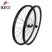 BZKE Углеродные колеса 30 мм ширина 29 дюймов Углеродные mtb велосипедные колеса boost Углеродные mtb Колеса 29 велосипедные колеса 350 ступицы