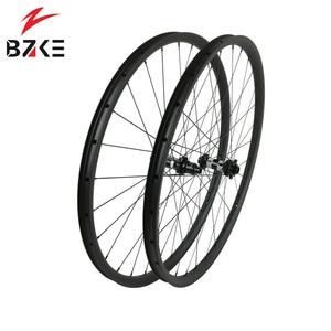 Image 1 - פחמן גלגלי 29 mtb אופניים זוג גלגלי boost הרי אופני גלגלי 29er XD מרכז מנעול דיסק 350 רכזות 148*12 110*15mm thru 30 רחב