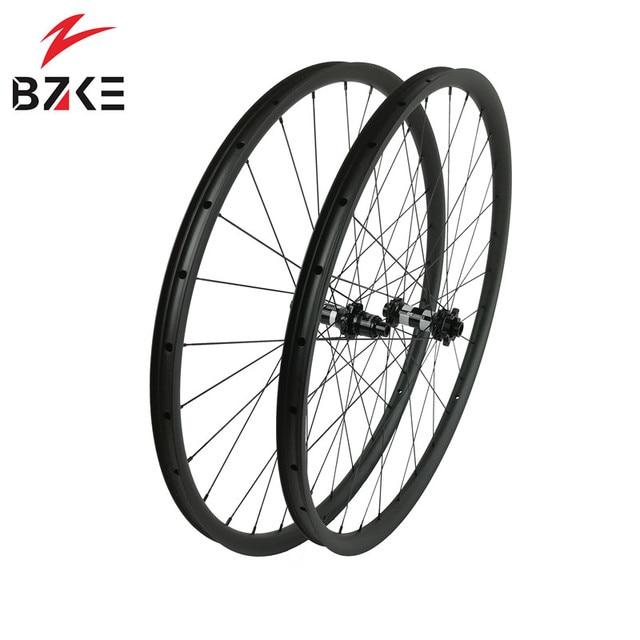 פחמן גלגלי 29 mtb אופניים זוג גלגלי boost הרי אופני גלגלי 29er XD מרכז מנעול דיסק 350 רכזות 148*12 110*15mm thru 30 רחב
