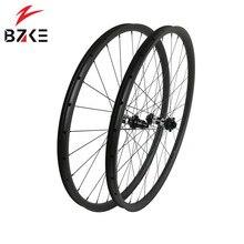 Ruedas de carbono 29 mtb juego de ruedas de bicicleta boost, ruedas de bicicleta de montaña 29er XD center lock disc 350 bubs 148*12 110*15mm thru 30 wide