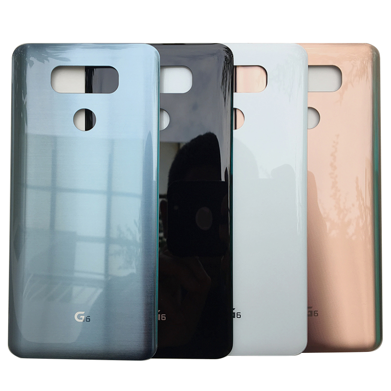 ZUCZUG Newest With Adhesive Glass Rear Housing Back Case For LG G6  Battery Cover Repair Part