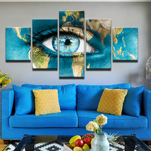 5pcs DIY Diamond Painting Blue Earth Eyes Full Square Embroidery Mosaic Picture Of Rhinestone H357