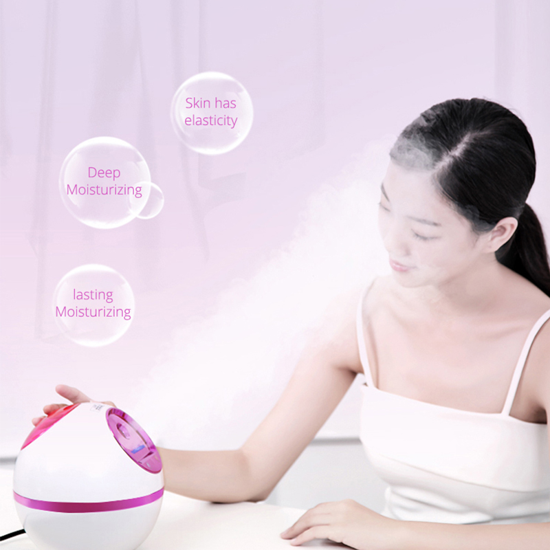 Facial Steamer Nano Ionic Hot Cool Steam Professional Spa Home Facial Steamer Sauna Pores Cleanser Portable Steaming Device in Personal Care Appliance Accessories from Home Appliances