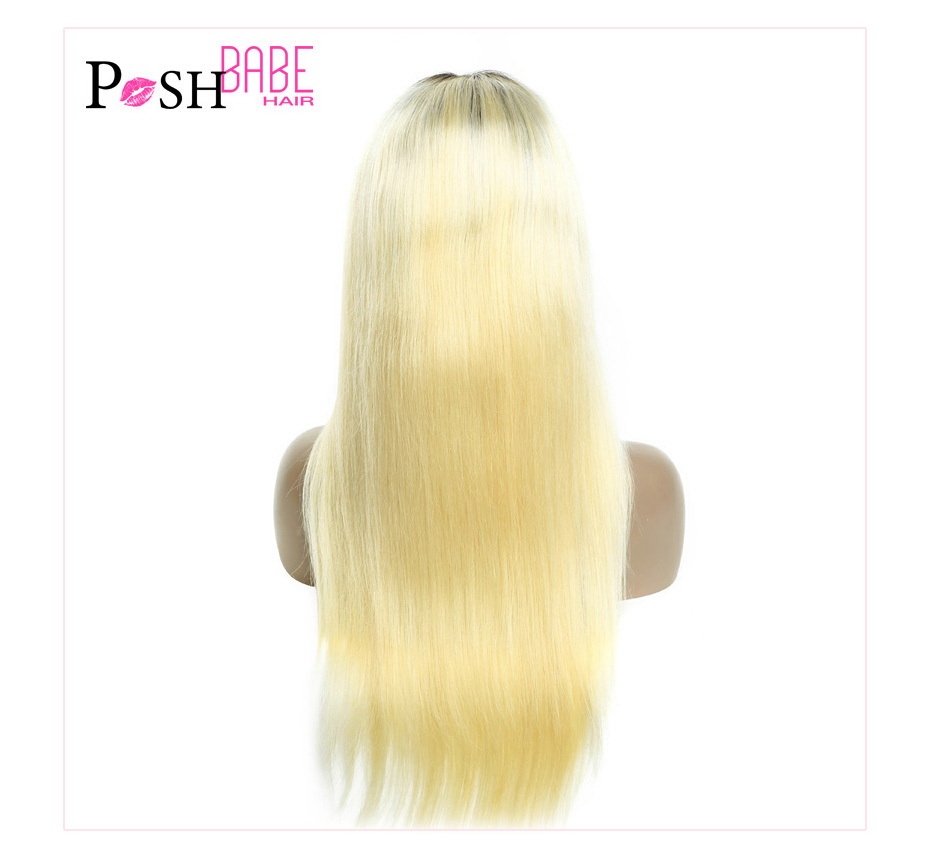 Blonde Lace Front Human Hair Wig (13)