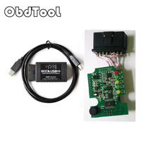 ObdTool ELM327 WIFI USB Scanner Auto OBD Diagnostic Tool ELM 327 Wifi obd-ii Interface Ondersteuning Android iOS PC LR10