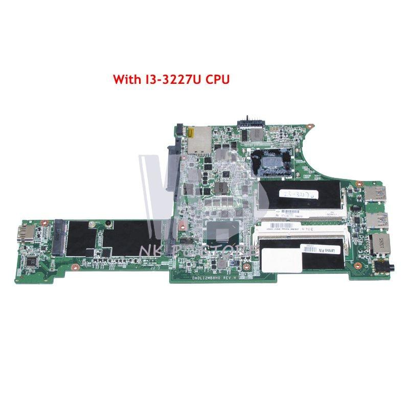 NOKOTION 04X0701 DA0LI2MB8H0 MAIN BOARD For Lenovo Thinkpad X131E Laptop Motherboard 13.3 inch I3-3227U CPU DDR3 nokotion 04y1842 04w0696 laptop motherboard for lenovo thinkpad x220 x220i sr04s i3 2310m cpu qm67 main board full work