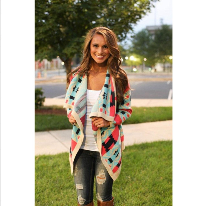 Autumn/Spring Womens Capes And Ponchoes Women Long Cotton Cardigan ...