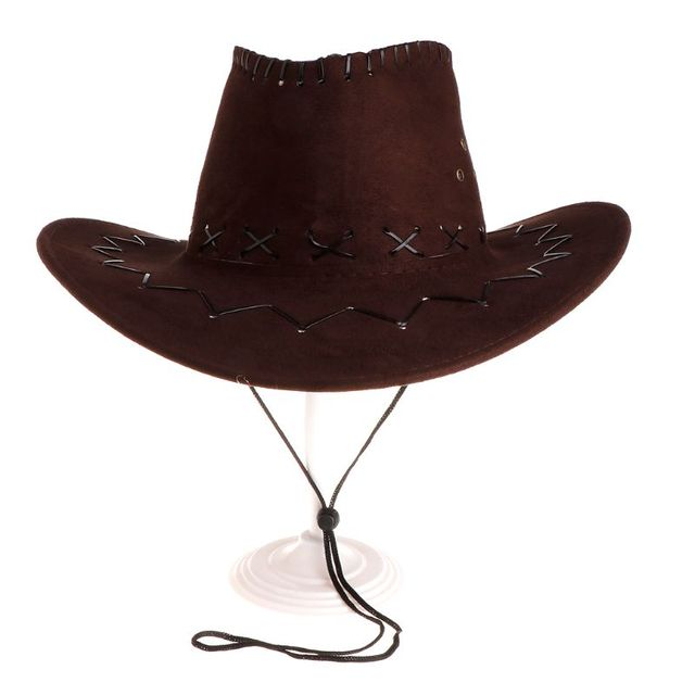 422893ec4 2018 Fashion Cowboy Hat For Men Western Party Costumes Travel Casual Cowboy  Hats