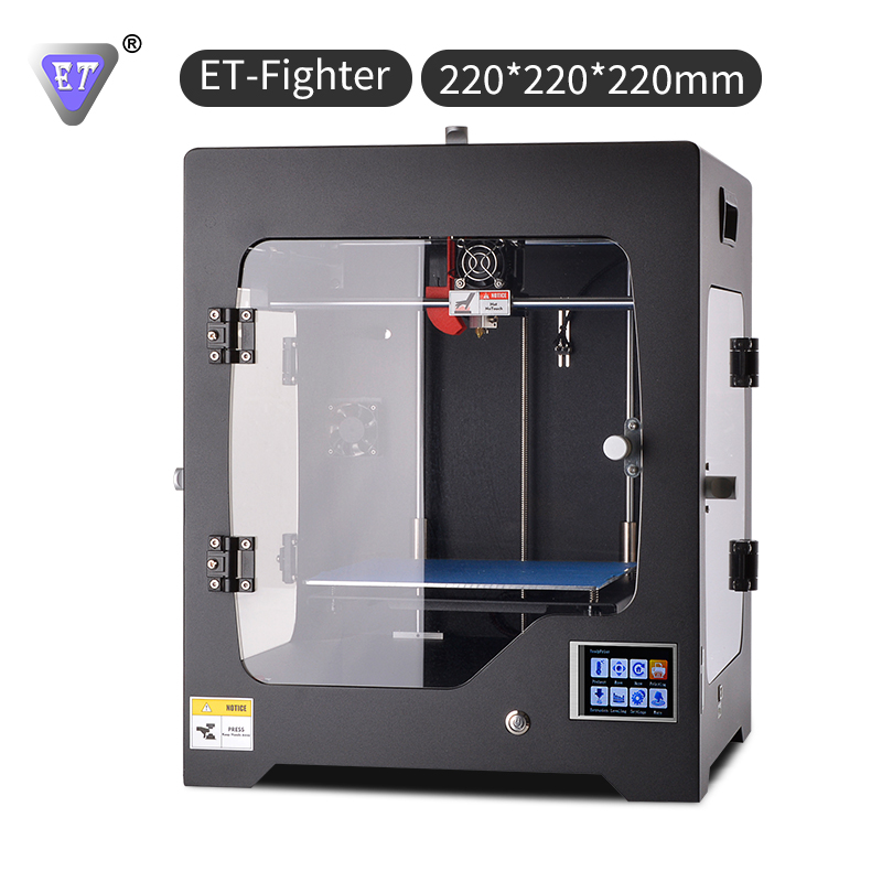 ET-Fighter 3d printer creality printing tornado cheaper printers mk8 extruder machine high good quality 3d hot sale new arrival new arrival qidi technology high quality power for 3d printer