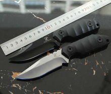 Tactical Knife Black Dragon Fixed D2 Blade Knife CNC G10 Handle Hunting Knifes Survival Camping Knives Outdoor Tools KN399