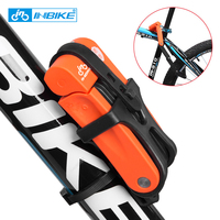 INBIKE Anti theft Bicycle Lock Anti shear of 12 ton Hydraulic Cutter Bike Lock Motorcycle Lock Electric Bicycle Part Chain Lock