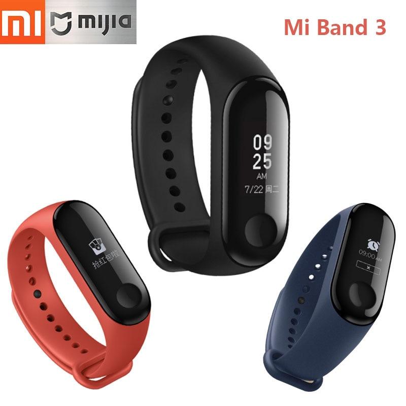 Original Xiaomi Mi Band 3/2 Instant Message Heart Rate Fitness Tracker OLED Touch Screen Waterproof Smart Wristbands Bracelet цены
