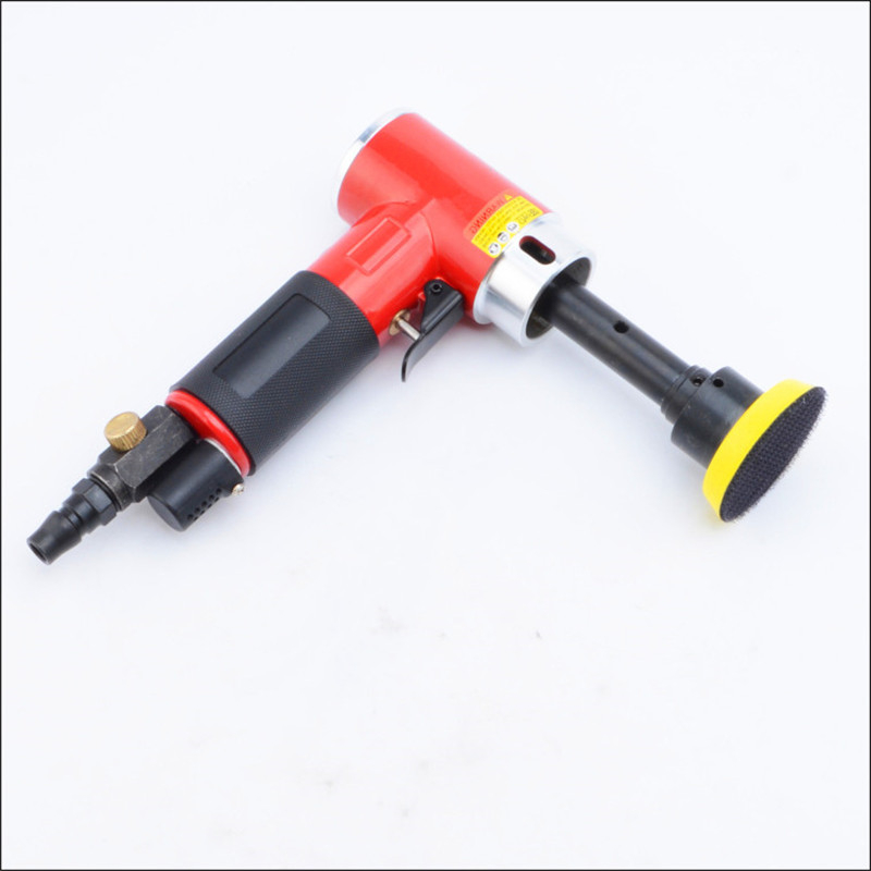 3 inch 90 degree small pneumatic polisher wind grinding machine air sanding polishing tool sander longer spindle eccentric model free shipping reciprocating type pneumatic sanding tool air polishing machine wind grinding tool sander machine 3mm move track