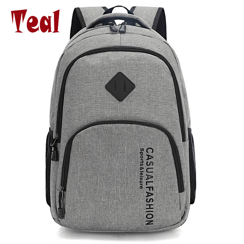 2017 New Fashion Men's Backpack Bag Male Canvas Laptop Backpack Computer Bag high school student college student bag male 2016 new style canvas leather patchwork fashion student school stachel book 15 inch travel shopping laptop computer backpack bag