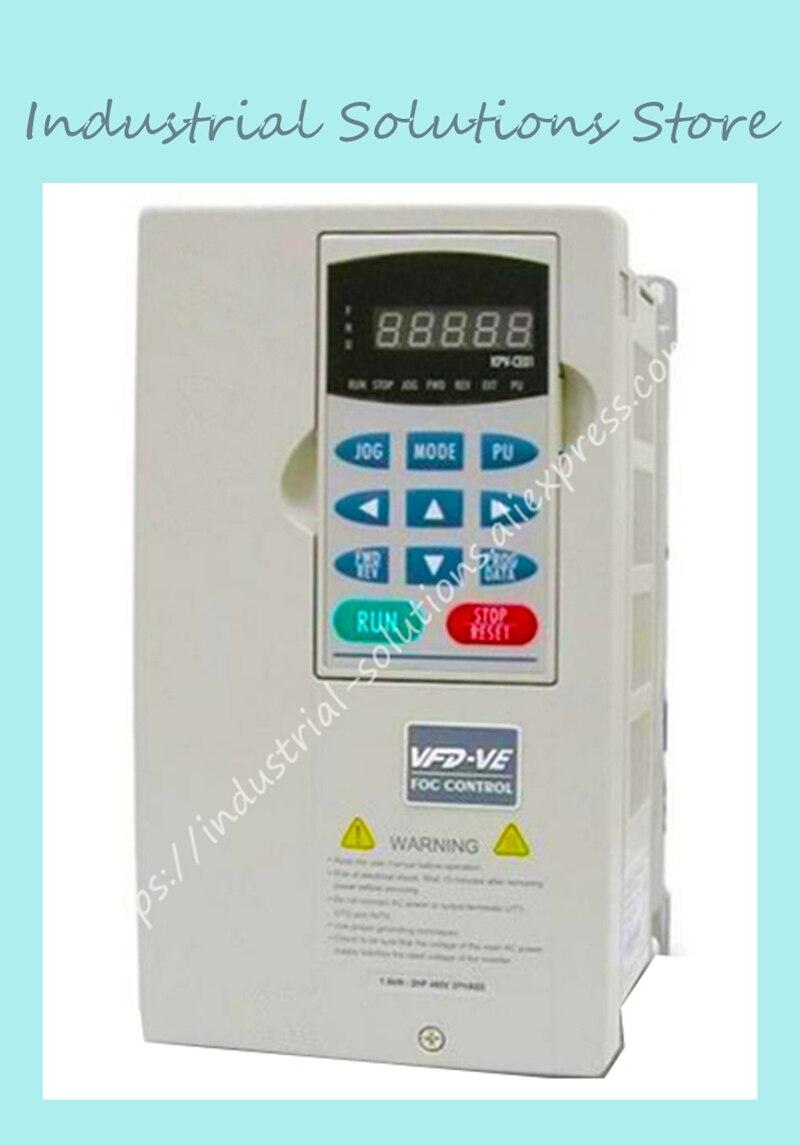 இInverter Frequency converter VFD-VE Series VFD055V23A-2 5.5kw 7.5 ...