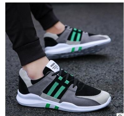 2017 รองเท้าลำลองผู้ชายรองเท้าระบายอากาศได้ผู้ชายแฟชั่นรองเท้ากลางแจ้งคลาสสิกบุรุษผ้าใบรองเท้าผู้ชาย Zapatos de ombre 39-44
