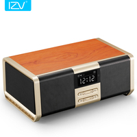 IZV P6 30W High Power HiFi Portable Wifi Bluetooth Speaker Subwoofer Stereo Mini Home Theater Supports USB Disks TF Microphone