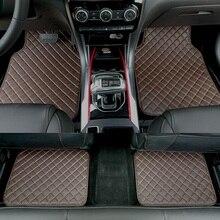 ZHAOYANHUA универсальные автомобильные коврики для всех моделей автомобилей Audi A6 C5 C6 C7 A4 B6 B7 B8 A3 A5 A7 A8 A8L Q3 Q5 Q7 стайлинга автомобилей