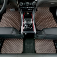ZHAOYANHUA Universal car floor mats for all models Audi A6 C5 C6 C7 A4 B6 B7 B8 A3 A5 A7 A8 A8L Q3 Q5 Q7 Car styling