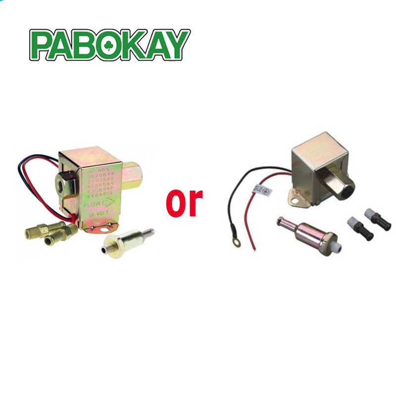 Diesel petrol 12V for facet red top square electric fuel pump 40104 40106 40107 P502 low pressure external 3797522 4299544 вентилятор bork p502