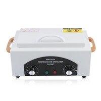 Pro Style High Temperature Sterilizer Box Nail Art Salon Portable Sterilizing Manicure Nail Beauty Tool EU
