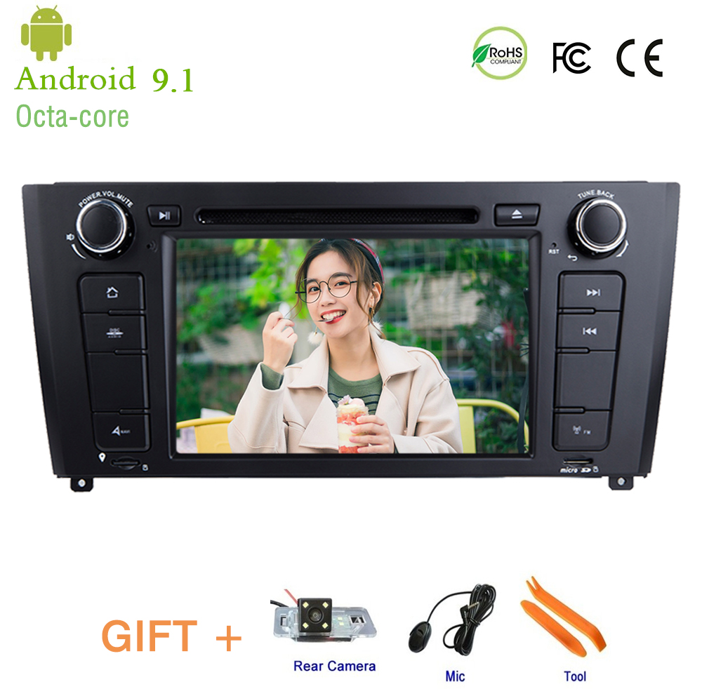 Android 9 1 Car DVD Player for BMW 1 Series E81 E82 I20 With BT Wifi