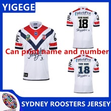 32186f82ca1 YIGEGE 2019 NRL RUGBY SYDNEY ROOSTERS 2018 MEN'S AWAY JERSEY 2018 NRL  JERSEYS Australia SYDNEY ROOSTERS