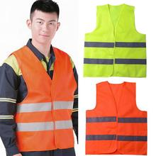 Fluorescent High Visibility Reflective Vest Security Equipment for Construction TrafficWarehouseNight Work New Arrival