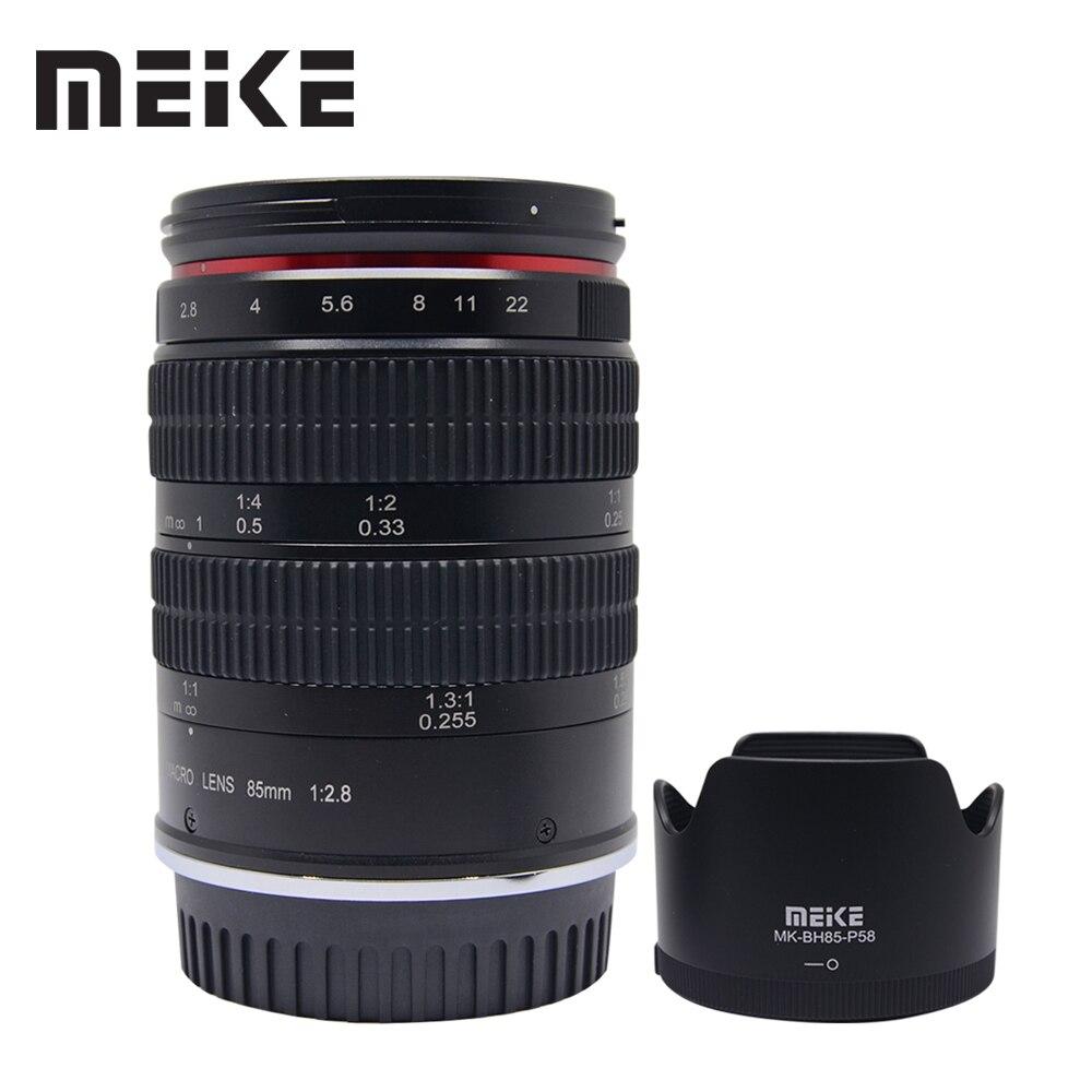 Meike MK-85mm F/2.8 plein cadre APS-C Super moyen téléobjectif Macro pour Fuji x-mount Micro caméra unique