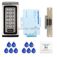Wholesale Brand New Metal Rfid Card Keypad Door Access Control System Kit Electric Strike Door Lock