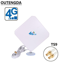 35dBi 4G Antenna TS9 Connector External Indoor font b WIFI b font Signal Amplifier ANT for