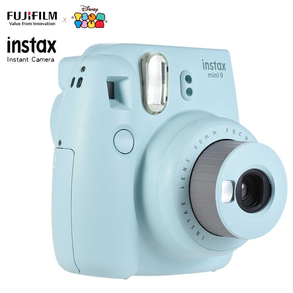 FUJIFILM Instax Mini 9 Kamera Instan Film Kamera Foto Pop-Up Len Auto Metering Camera + 50 Lembar Fujifilm instax Mini 8 9 Film