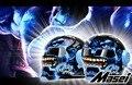 Free shipping Top ABS Moto biker Helmet  ktm MASEI Iron Man personality special fashion half  open face  motocross helmet Blue