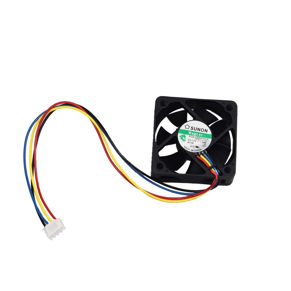 50 mm ventilador de PC enfriador 4 pines placa base Conector PC de - Componentes informáticos - foto 3