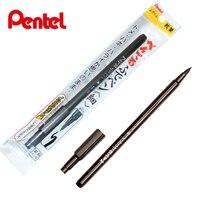 Pentel XSF15 карман кисть одна голова мягкая ручка мягкая голова прекрасный характер каллиграфия пера