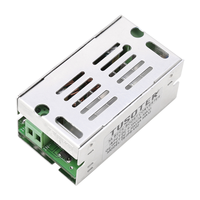 OOTDTY DC-DC Boost Buck Module 5A Automatically Step Up Down Power Converter