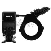 Meike MK 14EXT MK 14 EXT ETTL Macro TTL Speedlite ring flash AF assist lamp For Canon 5D Mark II/7D/60D/600D/550D/500D Camera
