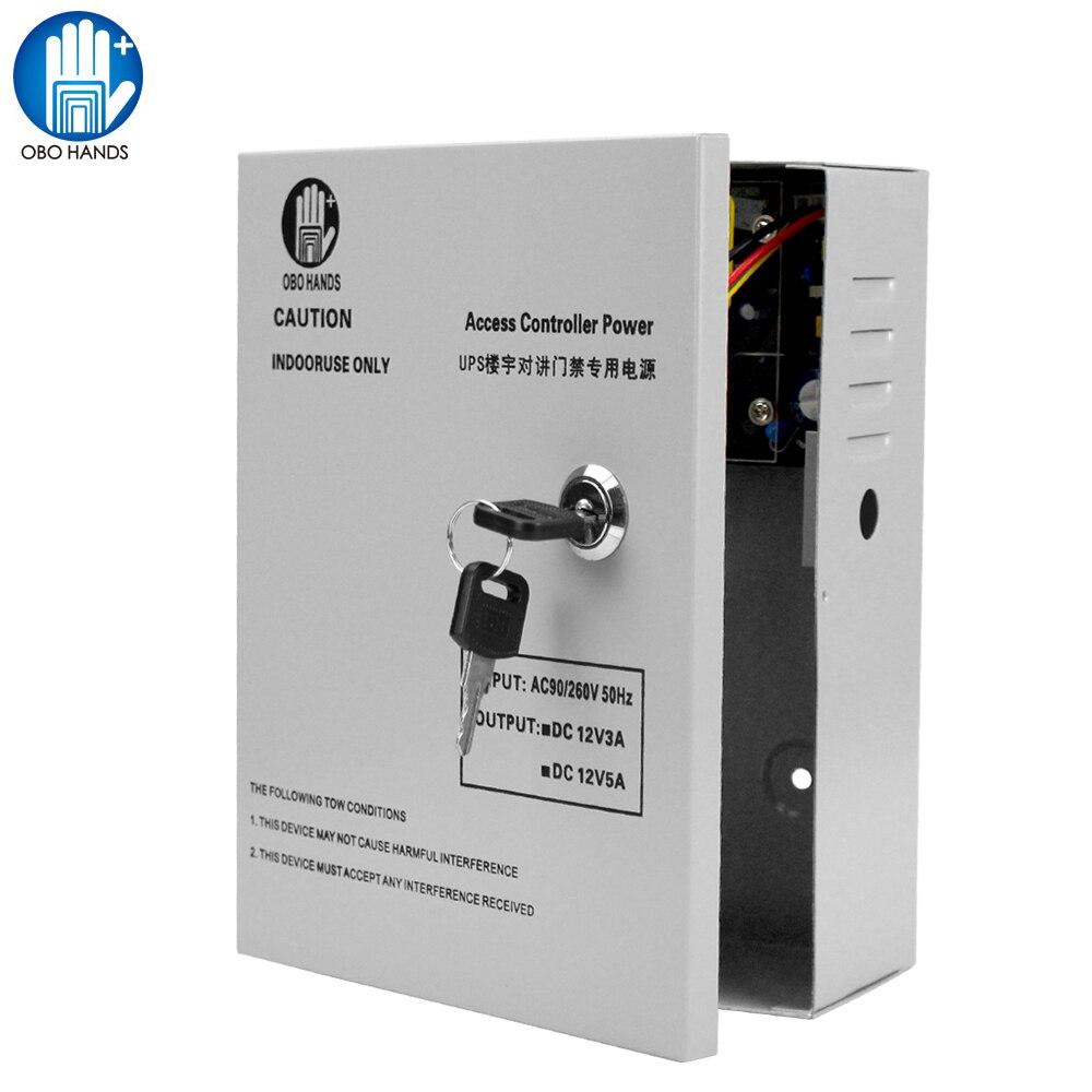 12 В 5A система контроля доступа блок питания UPS Резервное копирование мощность в режиме ожидания источника питания для системы контроля дост...