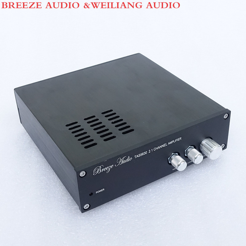 Breeze Audio &Weiliang audio SL1  TAS5630 2.1 Channel Home audio digital power amplifier 150WX2 300WX1