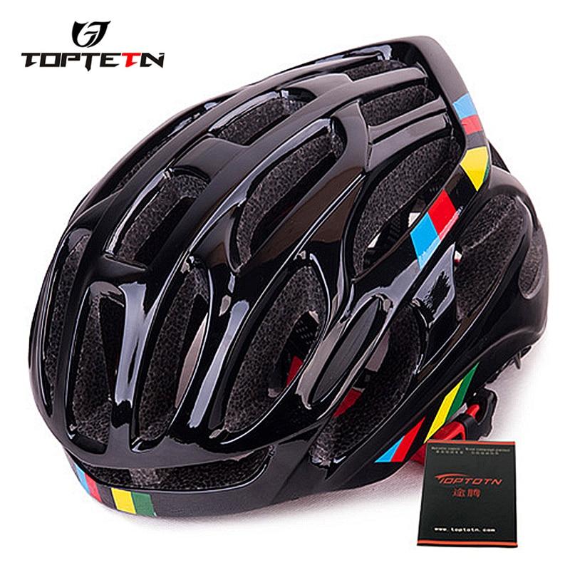 TOPTETN Begrenzte Capacete Da Bicicleta Bike Radfahren Fahrt Helm Outdoor-Sport Sicherheit Fahrrad Casco Ciclismo Helme
