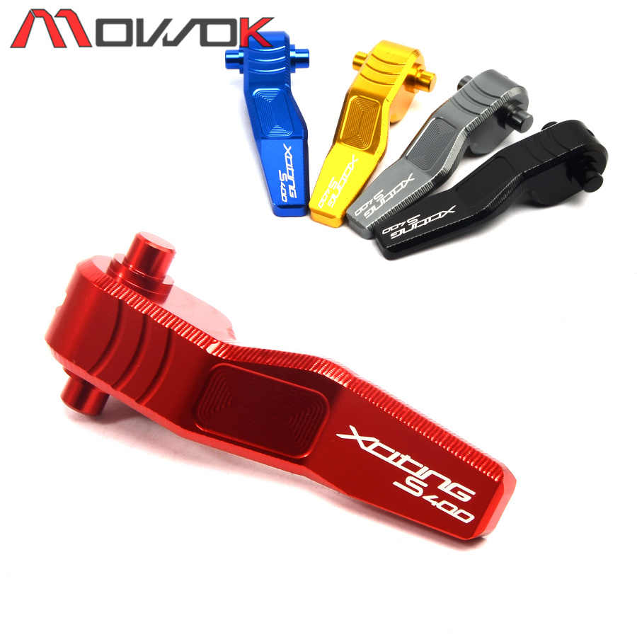 High Quality Motorcycle Accessory CNC Parking Brake Lever For KYMCO Xciting S 400 xciting s 400 400S