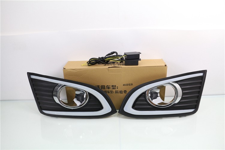 Osmrk led drl daytime running light for chevrolet chevy captiva 2013-16 with dimmer function top quality super bright