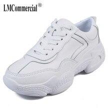 big size shoes women  women casual shoes chunky sneakers women Leather flats casual shoes Fashion comfortable soft bottom