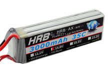 HRB lipo battery 14.8V 4S  50C 6000mAH lipo battery for rc DJI Quadcopter helicopter airplane drones