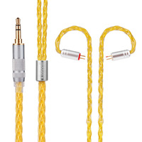 Yinyoo Kinboofi 8 Core Silver Plated Cable 2 5 3 5 4 4mm Balanced Cable With