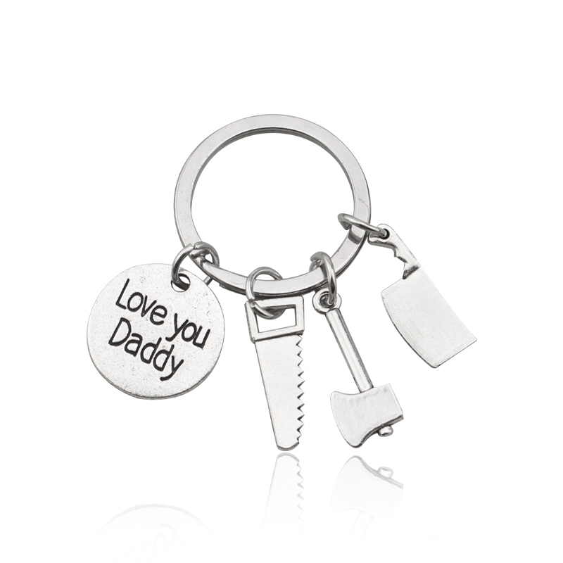 Aliexpress Buy New Keyring Hand Tools Keychain Daddy