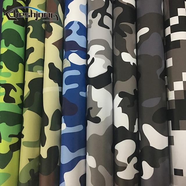 Over 10 Soorten Camo Vinyl Wrap Auto Motorcycle Decal Spiegel Telefoon Laptop DIY Styling Camouflage Sticker Filmfiche